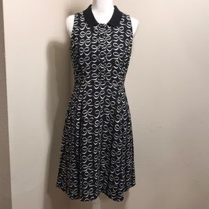 Kate Spade Collared Fit and Flare Dress